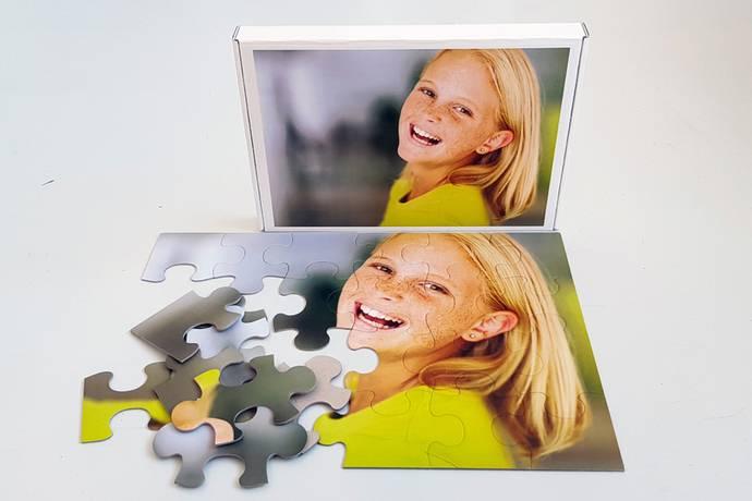 Foto puzzel 24 stukjes met doos